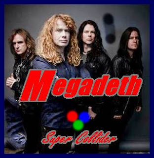 Megadeth Album Super Collider cover