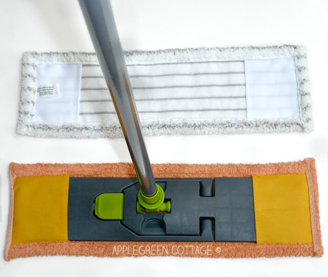 how to make a mop pad