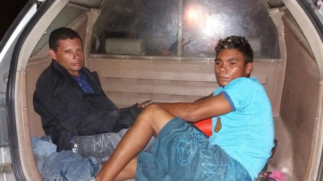 Em perseguição PRE prende dois envolvidos em assalto a mercadinho no Distrito de Bilheira