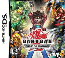 Bakugan: Rise of the Resistance cover