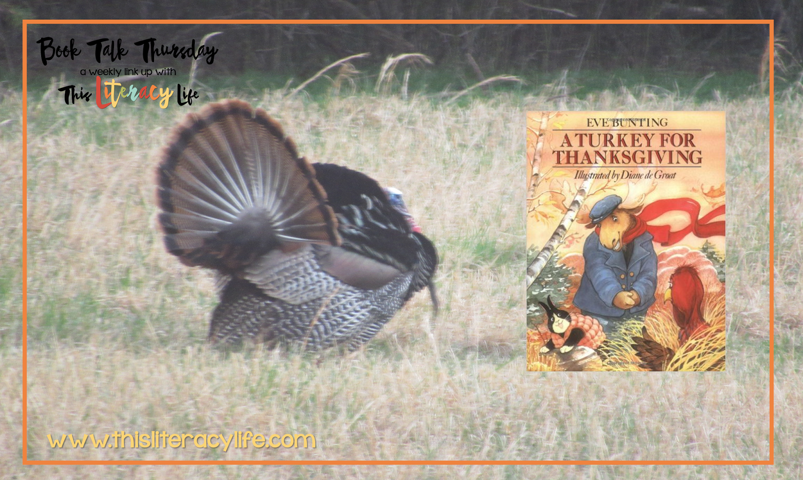 A Turkey For Thanksgiving On Book Talk Thursday