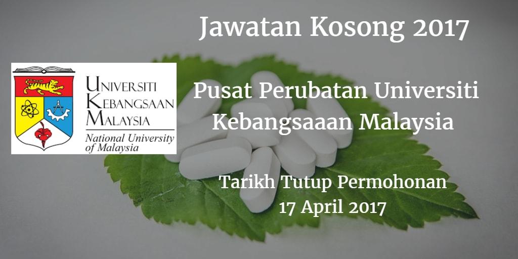 Jawatan Kosong PPUKM 17 April 2017