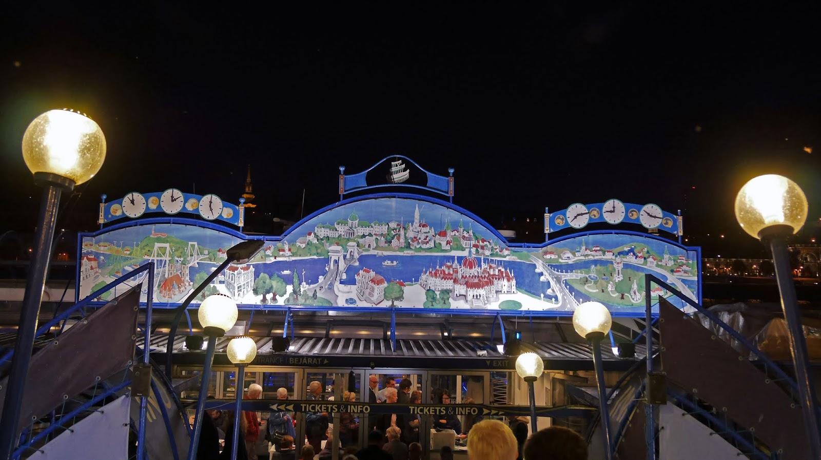 Legenda Cruises boat dock, Budapest