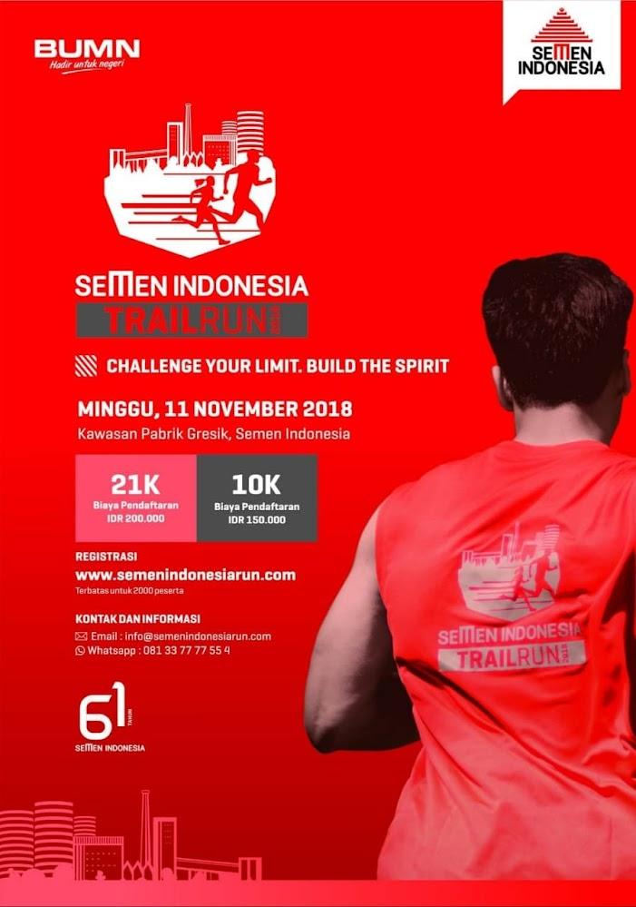 Semen Indonesia Trail Run • 2018