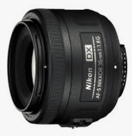 Nikon D3400 best lens even 35mm