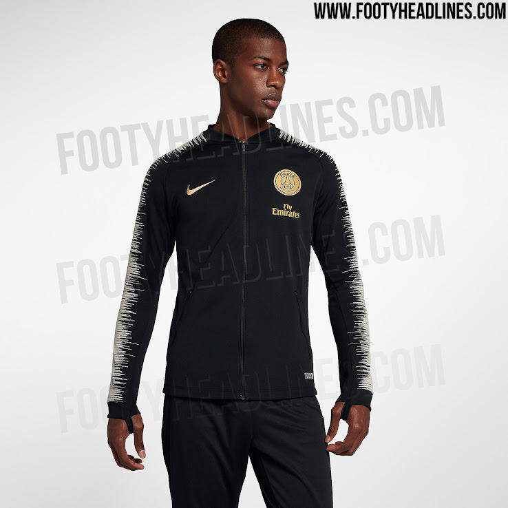 1ba9922ba Nike Paris Saint-Germain 18-19 Away Kit Jackets Leaked - Footy Headlines