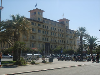 Viareggio's Grand Hotel is a throwback to its heydey