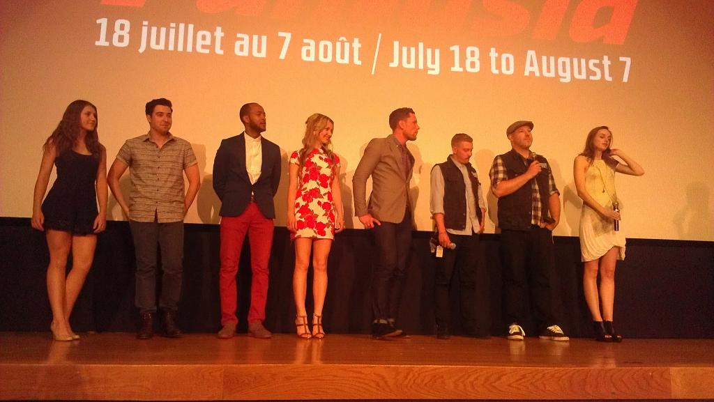 """Antisocial"" cast & filmmakers"
