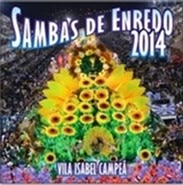 Capa do CD Sambas de Enredo Especial 2014 - Carro Girasol