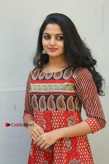 Telugu Actress Nikhila Vimal Latest Stills in Anarkali Dress  0039.JPG