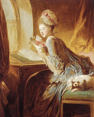 The Love Letter by Jean-Honoré Fragonard 1770
