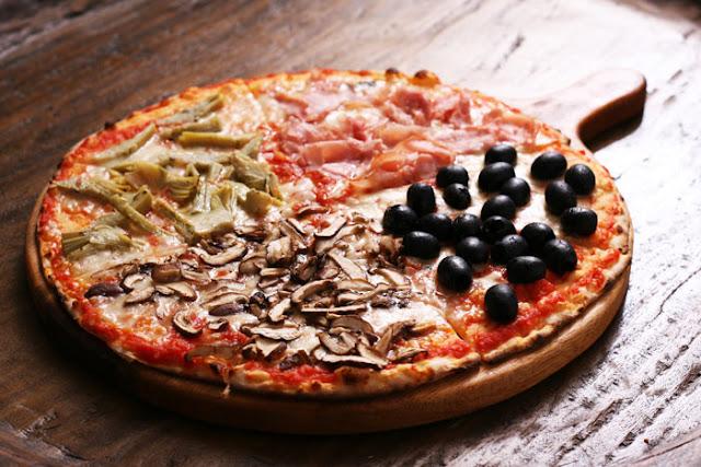 Reteta Pizza Quattro Stagioni