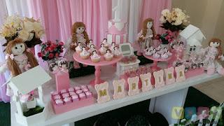 Decoração festa infantil Bonecas de Pano