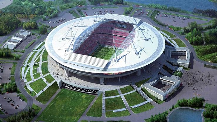 Krestovsky Stadium, Stadion Piala Dunia 2018