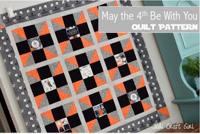 http://www.jedicraftgirl.com/2016/05/may-the-4th-be-with-you-star-wars-quilt-pattern.html