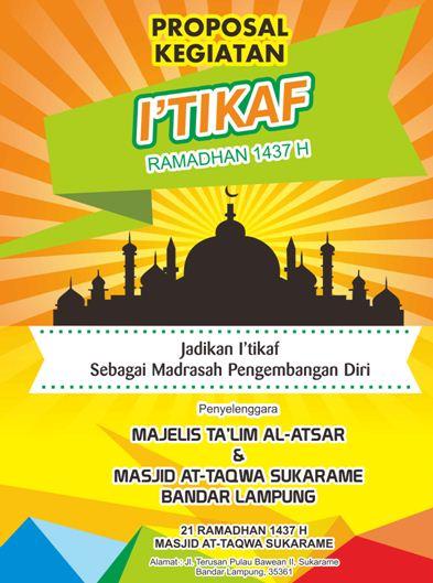 Contoh Halaman Judul (Cover) Proposal Kegiatan