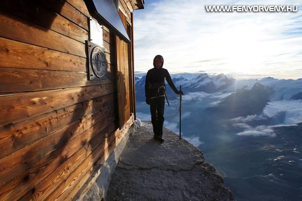 Solvay Hut, Svájc