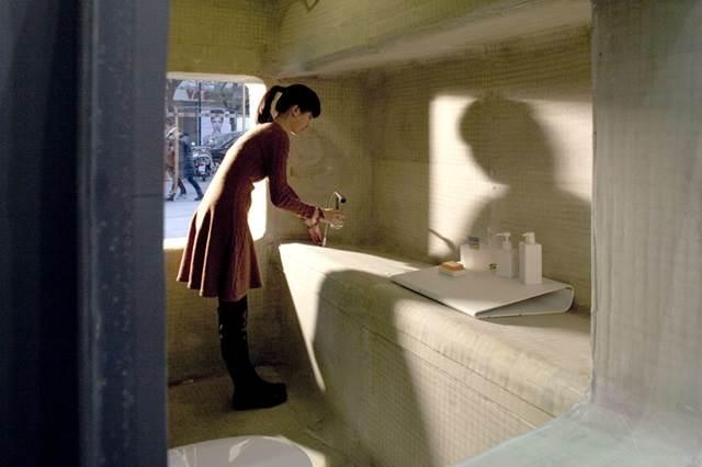 tandas dalam rumah mikro