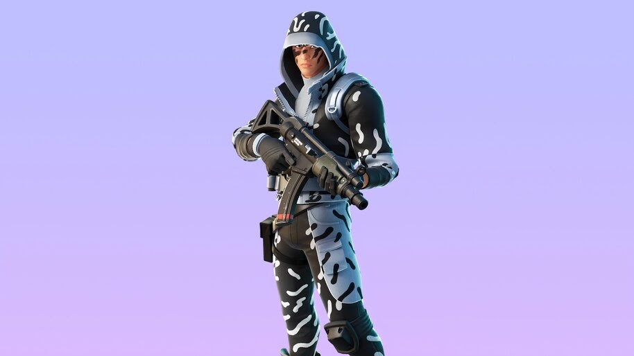 Ice Stalker, Fortnite, Skin, Outfit, 4K, #7.888