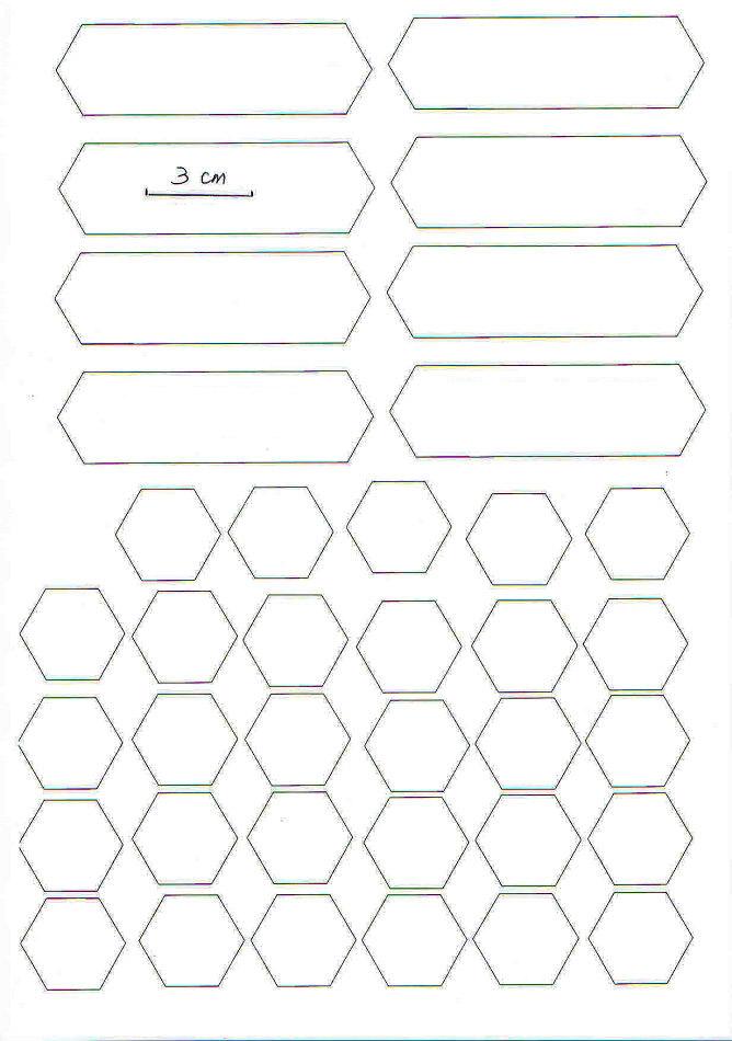 Hexagon Patchwork Purse Tutorial ~ DIY Tutorial Ideas!