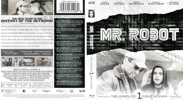 Mr Robot Season 1 Bluray Cover