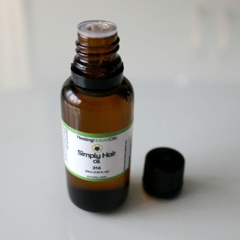 Amoils Healing Natural Oils Simply Hair Oil