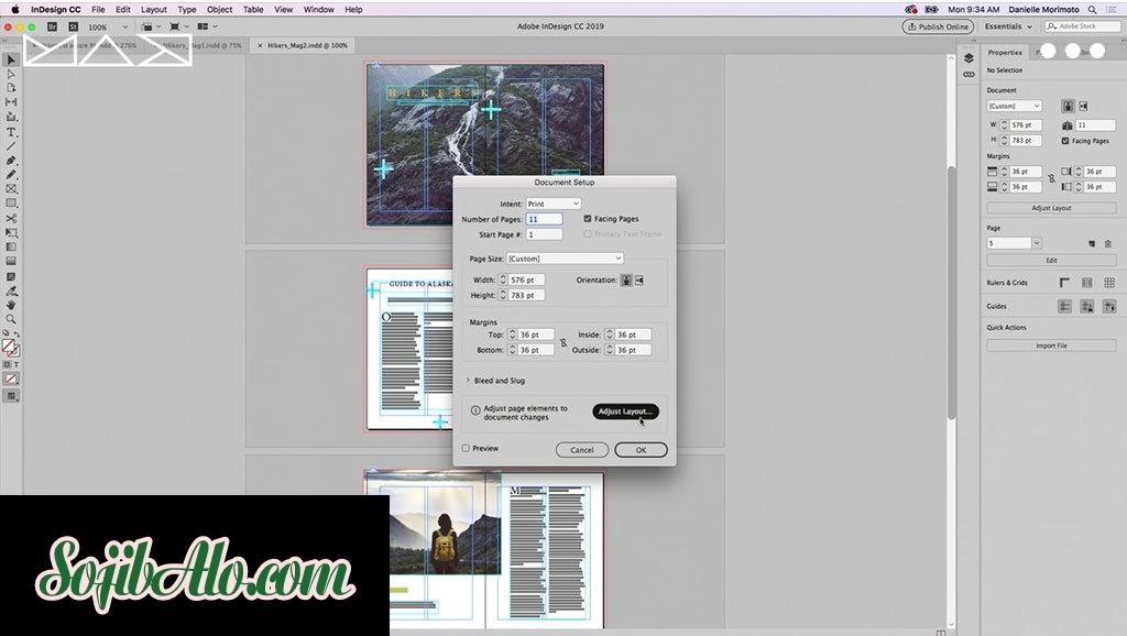 Adobe InDesign CC 2019 Free Download - SojibAlo