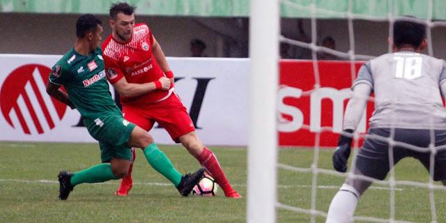Gol Tunggal Super Simic Bawa Persija ke Final Piala Presiden