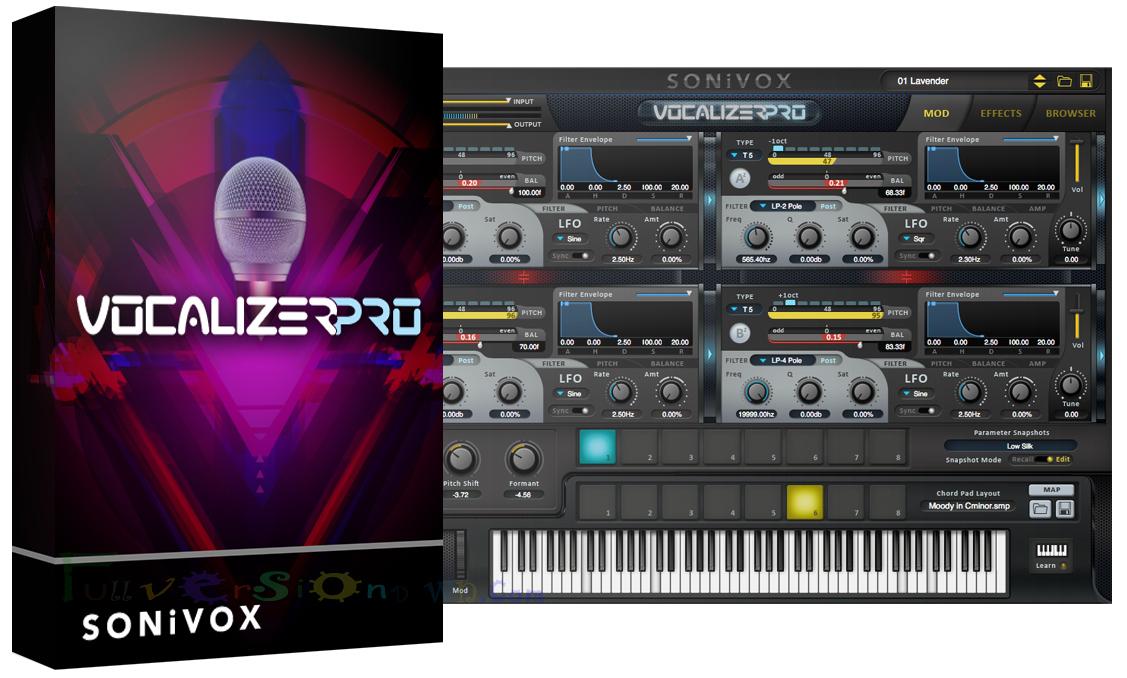 SONiVOX Vocalizer Pro 1.3 Latest ISO