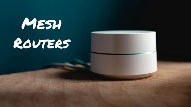 How do mesh routers work