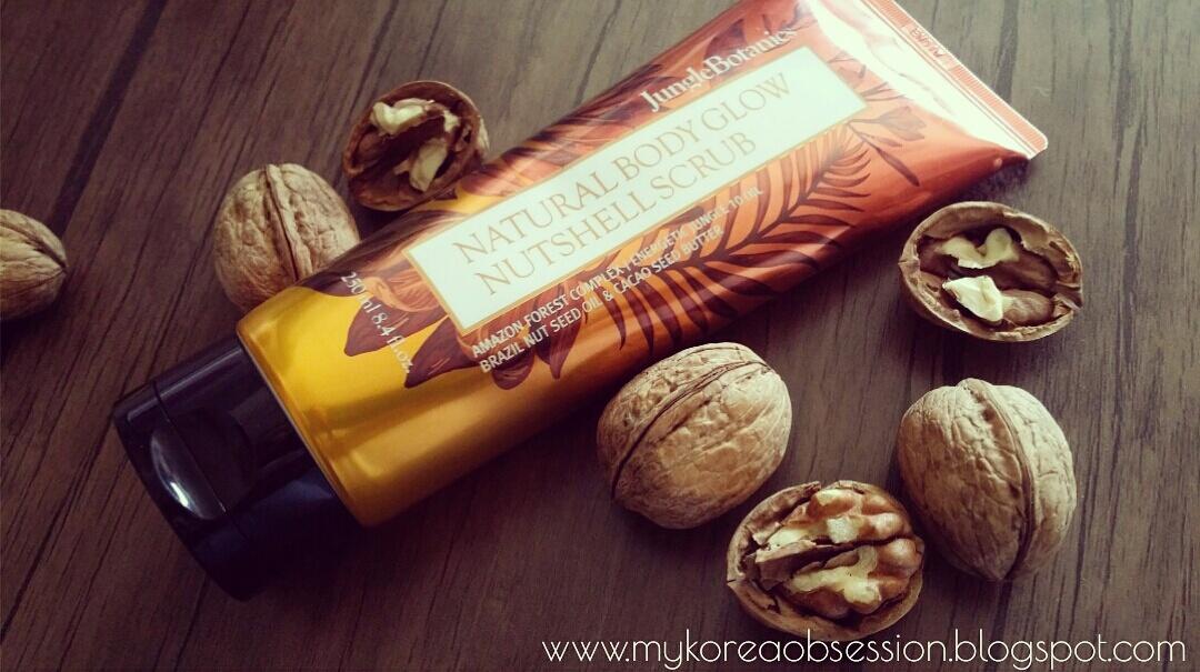 [JUNGLE BOTANICS] Natural Body Glow Nutshell Scrub: Review
