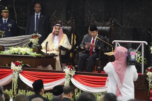 """Tiga Kesalahan Pengucapan Novanto Saat Pidato Sambutan Raja Salman, Termasuk """"Ats-Tsani"""""""