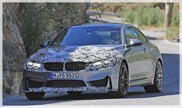 2018 BMW M4 Refresh and Power Upgrades