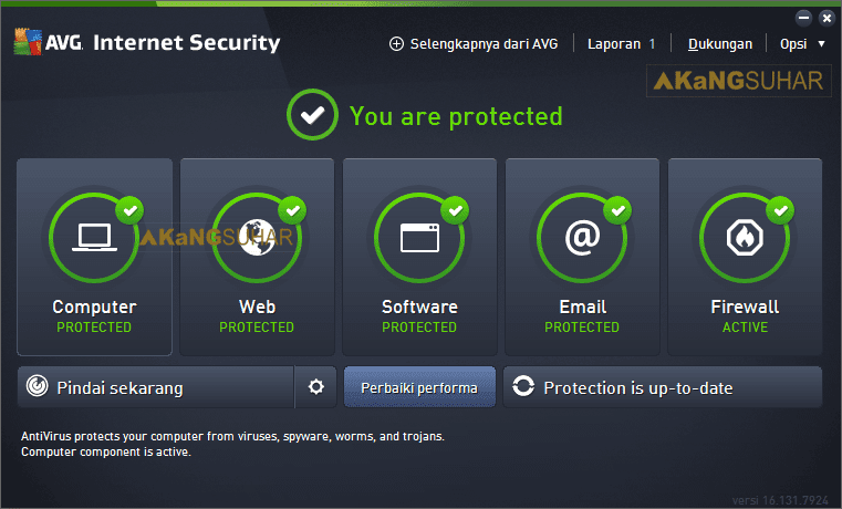 Download AVG Internet Security 2017 Full License