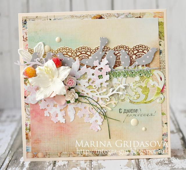 Birthday card | Die-Namites @akonitt #card #dienamites #by_marina_gridasova