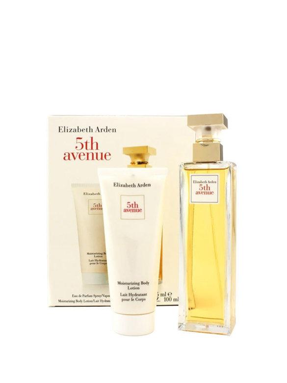 Set cadou Elizabeth Arden 5TH Avenue (Apa de parfum 125 ml + Lotiune de corp 100 ml), Pentru Femei