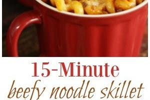 Beefy Noodle Skillet