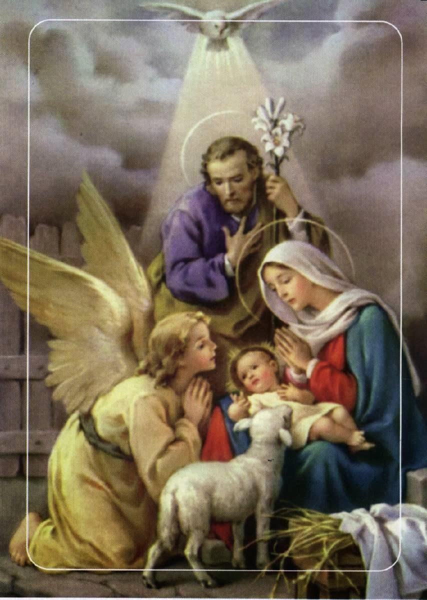 Banco de imagenes y fotos gratis im genes de la sagrada - Estilo sagrada familia ...