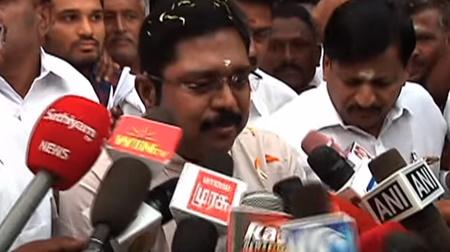 TTV Dinakaran press meet | RK nagar election