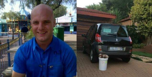 #MISSING: Jean-Manrique Magerstein (a.k.a. Mavrick) 31, Last seen on Tuesday, 23 February 2016 travelling in the Krugersdorp area