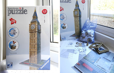 12 days of Christmas, Christmas gifts 2012, Ravensburger 3D puzzle