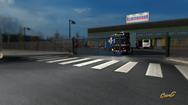 ets 2 animated gates in companies v2.8 screenshots 2