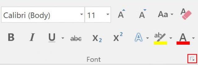 Promena fonta u Wordu