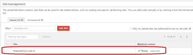 """Akhirnya Blog Saya dapat Fitur """"Matched Content"""" dari Adsense"""