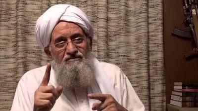 El líder de la organización terrorista Al-Qaeda, Ayman al-Zawahiri.