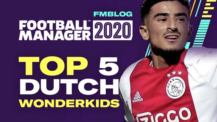 FM20 - Top 5 Wonderkids From Netherlands