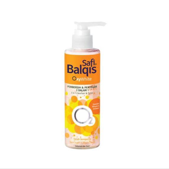SAFI BALQIS Oxywhite Pembersih & Penyegar kawalan Minyak & Jerawat 2 dalam 1