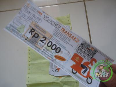 Kantor POS Subang Bagi - Bagi Voucher Transaksi