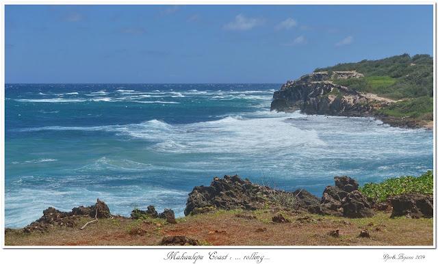 Mahaulepu Coast: ... rolling...
