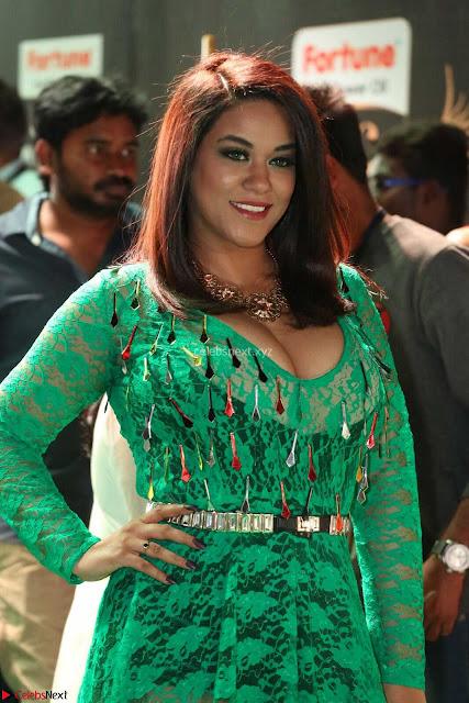 Mumaith Khan in Transparent Green Plazo Kurti at IIFA Utsavam Awards 2017  (Telugu and Kannada) Day 2  Exclusive 04.JPG